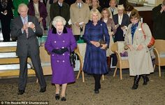 At the end of the show the guests were invited to a reception to meet the star of the ente...
