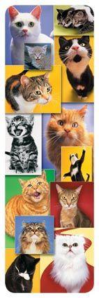 Cats - 3-D Bookmark