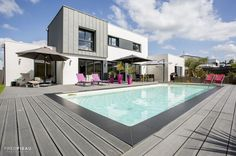 Piscine contemporaine | Caron Piscines