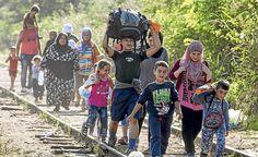 cool Se incrementa el flujo de inmigrantes y refugiados a Europa