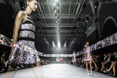 Discover exclusive images from the Moncler Gamme Rouge Spring-Summer 2015 Show #moncler #gammerouge #ss15 #pfw