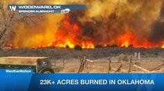More Than 23,000 Acres Burned In Oklahoma