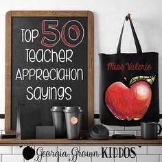 50 Teacher Appreciat