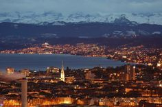 Downtown Switzerland Seattle Skyline, Paris Skyline, Switzerland Cities, I Like Dogs, City Girl, Dream Vacations, Airplane View, Travel Inspiration, Places To Go