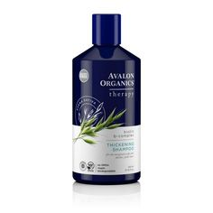 Avalon Organics Biotin B-Complex Thickening Shampoo, 14 Fluid Ounce. Thickening Shampoo with Biotin B-Complex. Avalon Organics is grounded in the knowledge that all beauty begins within the Earth. Biotin Shampoo, Thickening Shampoo, Hair Shampoo, Organic Shampoo, Natural Shampoo, Natural Haircare, Shampooing Bio, Avalon Organics, Hair And Beauty