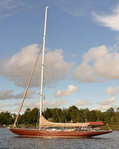 "classic sailing yacht ""Itaka"""
