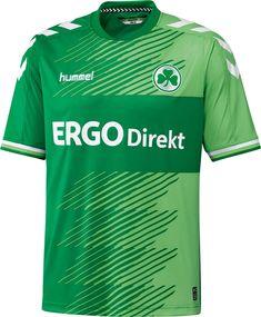 Spielvereinigung Greuhter Fürth (Germany) - 2015/2016 Hummel Home Shirt