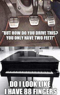 Wellllll.......driving standard is way easier