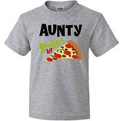 Inktastic Aunty Fueled by Pizza Youth T-Shirts Youth XL Athletic Heather inktastic http://www.amazon.com/dp/B00MSJ42JQ/ref=cm_sw_r_pi_dp_nwFmub034WK5R