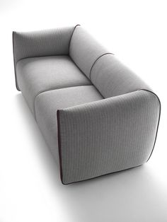 2 seater fabric #sofa with removable cover MIA by MDF Italia