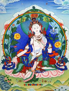 "ARYA TARA RABZHIMA: ""Homage, Mother, blissful, virtuous, calm, whose field of activity is peaceful nirvana, endowed with the true perfection of SVAHA and OM, destroying great evils."""