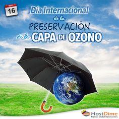 Hoy 16 de septiembre se celebra el #DíaInternacionalDeLaPreservaciónDeLaCapaDeOzono, instituido en 1995 por Naciones Unidas con el objetivo de sensibilizar a la opinión pública sobre este problema.  #HostDime