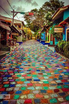 Vilarejo da Pipa - Tibau do Sul - Rio Grande do Norte - Brasilien Places Around The World, Oh The Places You'll Go, Travel Around The World, Places To Travel, Around The Worlds, Travel Destinations, Rio Grande Do Norte, Beautiful World, Beautiful Places