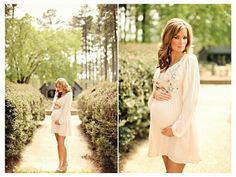 Enchanted Garden #Maternity Session By Brandi Smyth Photography on Fawn Over Baby