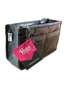 Periea Handbag Organiser Chelsy Brown One Size Medium