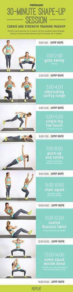 Cardio and strength-Quick