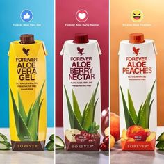 Forever Living has the highest quality aloe vera products and is recognized as the world's leading multi-level marketing opportunity (FBO) for forty years! Aloe Vera Gel Forever, Forever Living Aloe Vera, Forever Aloe Berry Nectar, Aloe Drink, Forever Living Business, Nutrition, Forever Living Products, Feel Better, Sugar Free