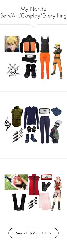 """My Naruto Sets/Art/Cosplay/Everything"" by akemi-hikari ❤ liked on Polyvore featuring Fendi, James Perse, Jil Sander Navy, Anthony Vaccarello, Pieces, Salvatore Ferragamo, Lanvin, Jeffrey Campbell, DEPT and Tomas Maier"