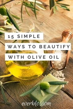 Olive oil beauty use