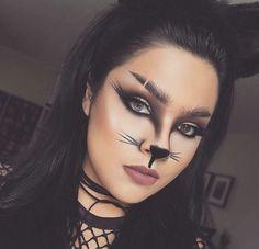 6cc9158d6 Maquillaje fanta Maquillaje Gatita Niña, Maquillaje Halloween Ojos,  Maquillaje De Conejo, Gato De