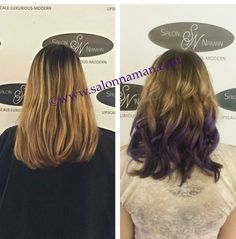 This purple Ombré is a super fun look for Spring ans Summer! Ready for a fashion color makeover? Book your appointment by calling 803-327-9242