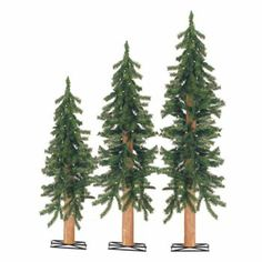 Sterling 3-pc. Alpine Pre-Lit Christmas Tree Set