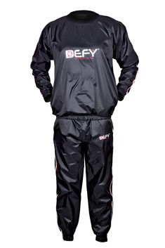 Heavy Duty 2Fit RED Sweat Sauna Suit Exercise Gym Fitness Jogging Track Suit Running Sweat Suit Weight Loss Sauna Bath Slimming Suit Anti-Rip M-6XL