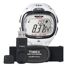 Timex Race Trainer Pro Heart Rate Monitor T5K490 -- Details can be found by clicking on the image.