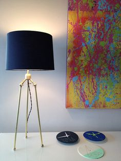Love this neon splattery painting - think that's going to be inspiration for my next artwork!