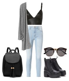 """Outfit inspired by Taurus ♉"" by rayageorgieva77 ❤ liked on Polyvore featuring T By Alexander Wang, Frame and Illesteva"