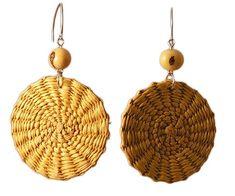 Boho Earrings, Drop Earrings, Palm Plant, Bracelet Tutorial, Designer Earrings, Wire Jewelry, Bamboo, Hand Weaving, Beads