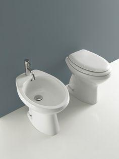 vaso e bidet scarico sp arredamento bagno