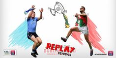 All Ireland Semi Final Replay 2015 Semi Final, Replay, Finals, Ireland, Graphics, Movies, Movie Posters, Graphic Design, Films