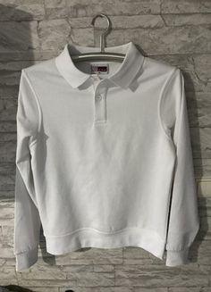 Kaufe meinen Artikel bei #Mamikreisel http://www.mamikreisel.de/kleidung-fur-jungs/pullover/36509992-us-basic-idaho-polo-sweater-jungen-sweatshirt-weiss-xs