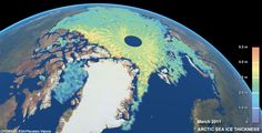 Cryosat mission's new views of polar ice