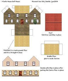 printable dollhouse