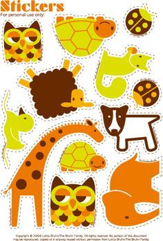 Free Sticker printables