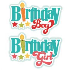 Birthday Titles SVG scrapbook birthday svg cut files birthday svg files free svgs free svg cuts