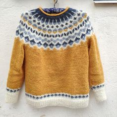 Fair Isle Knitting Patterns, Fair Isle Pattern, Knit Patterns, Barett Outfit, Icelandic Sweaters, Clothes Crafts, Casual Fall Outfits, Mode Outfits, Dressmaking