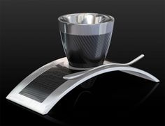 DEVIEHL Mundo Nova Espresso #Cup So you love #drinking the best and the most expensive #coffee. Now, how about a cup that matches the quality of the coffee? London-based #DEVIEHL offers coffee cups that are not just beautifully crafted but also technological advanced.  See More : http://www.luxurynext.com/luxury-storm-in-a-coffee-cup