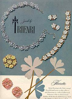 Vintage Trifari jewelry.
