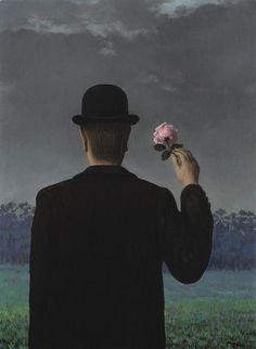 René Magritte - La double vue - 1957