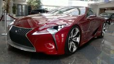 #Lexus LF-LC concept - she's a real beauty isn't she?