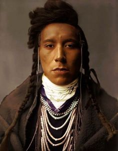 """This is a photograph of Bird On High Land, a Crow Native American. It was originally entitled """"Crow Boy"""" The. Bird On High Land Native American Pictures, Native American Quotes, Native American Beauty, Native American History, Native American Indians, Crow Indians, American Crow, American Symbols, American Actors"""
