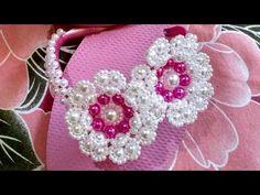 YouTube Beaded Brooch, Beaded Earrings, Beaded Jewelry, Crochet Earrings, Flip Flop Sandals, Flip Flops, Beaded Flowers, Jewelery, Slippers