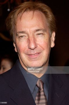 Alan Rickman arrives at the 68th annual Drama League Annual Awards Luncheon May 10, 2002 in New York City. Proceeds from the luncheon support the Drama League Project, a training program for emerging directors.