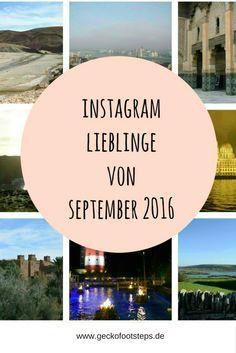 Reiseinspirationen pur gabs gabs letzten Monat wieder auf Instagram. Hier sind meine Instragram Lieblinge für September 2016. #instagram #reiseblogger #reiseblog