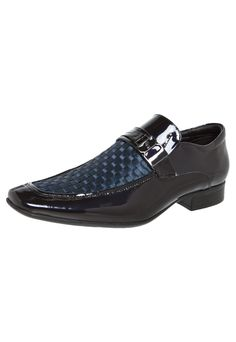 Sapato Social Jota Pe Tressê Azul