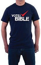 As Americans we must to stand up for the principles found in God's Word, our Biblical convictions! #VotetheBible