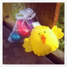 Twit Twoo Chick choc gift - The Supermums Craft Fair